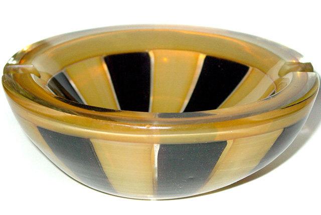RARE Murano ERCOLE BAROVIER Opal MORESCO Geode Bowl