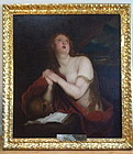 Mary Magdalene 18th Century oil painting