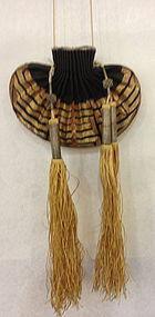 Chinese antique gold thread sachet Hebao