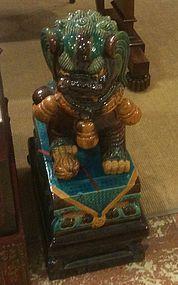 Chinese Foo dog statue