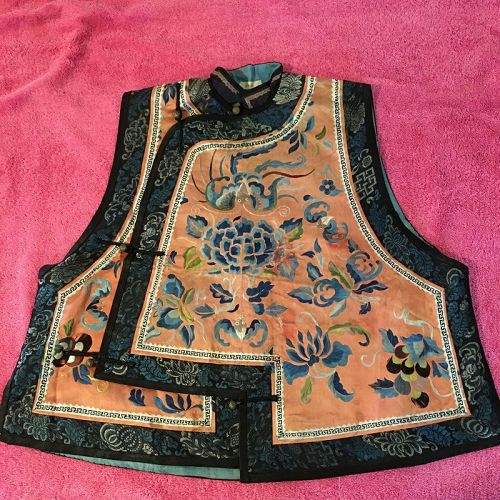 Antique Chinese lady's vest