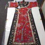Manchu woman's summer robe