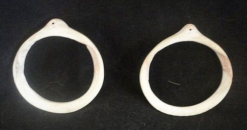 A MATCHED PAIR OF MIMBRES/MOGOLLON SHELL BRACELETS