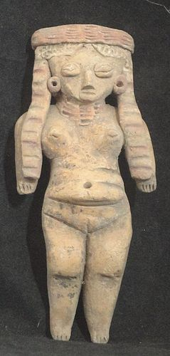"A FINELY DETAILED ""PRETTY LADY"" FROM MICHOACAN MEXICO"