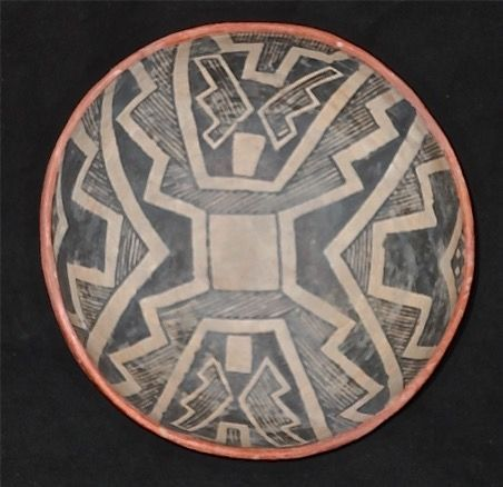 A STRIKING PREHISTORIC GILA POLYCHROME BOWL