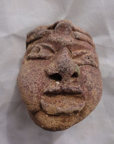 A DEFTLY MOLDED HEAD FRAGMENT FROM MEXICO