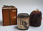 Momoyama period Shino Koro Incense Burner