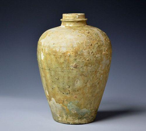 Kamakura-Muromachi (13th-14th c.) Ko-Seto Heishi Bottle