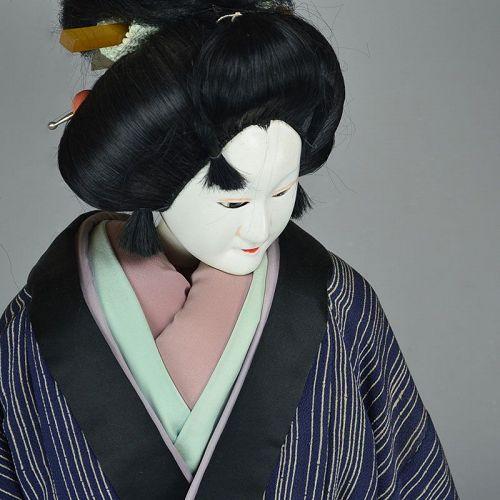Genuine Japanese Bunraku Theater Puppet