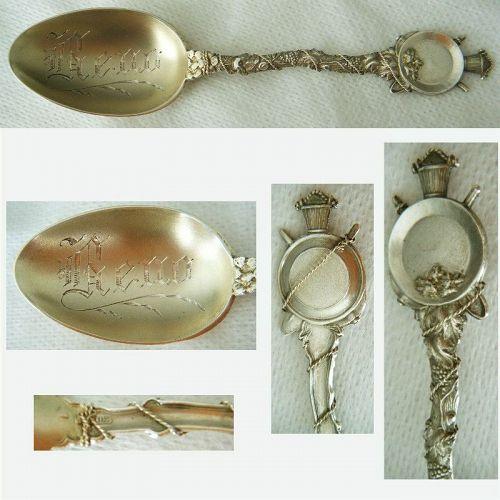 "Joseph Mayer ""Reno"" Mining Sterling Silver Souvenir Spoon"