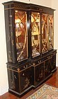 Karges Chippendale Breakfront Cabinet