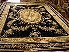 Chinese Handmade Wool Aubusson Style 240 kpsi Carpet