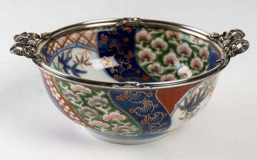 Japanese Porcelain Bowl Fukagawa Kilns