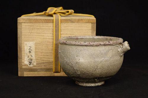 Antique Karatsu katakuchi of Meiji period (1868-1912)