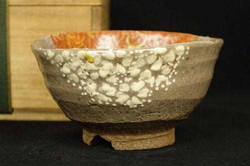 Rokubei Kiyomizu the 2nd (1790-1860) Antique Japanese Teabowl