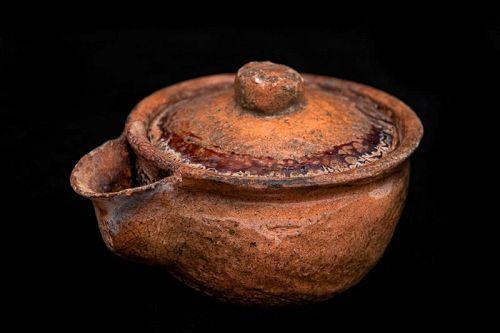 Edo Period (1603-1868) Japanese Antique Hohin Teapot
