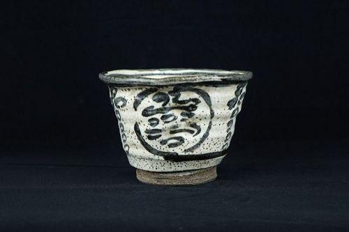 Rokubei Kiyomizu the 3rd (1820-1883) Antique Japanese Teabowl