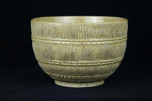 Kato Shuntai (1802-1877) Japanese Antique Seto Ware Bowl