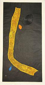 "japan Haku Maki ""Big Yellow"" Poem 71-7(Mind)"