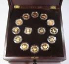 Hong Kong gold zodiac coins
