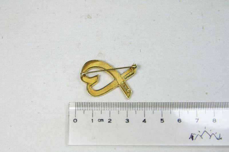 US ny tiffacny gold pin  14 k