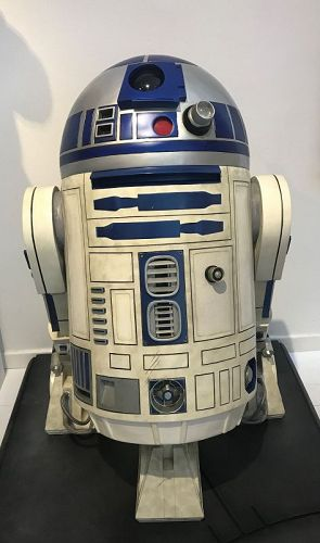 r2d2  life size sideshow collectible first version