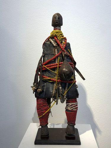 an impressive  cameroon doll