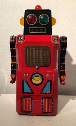 giant sonic,train robot,masudaya ,gang of five