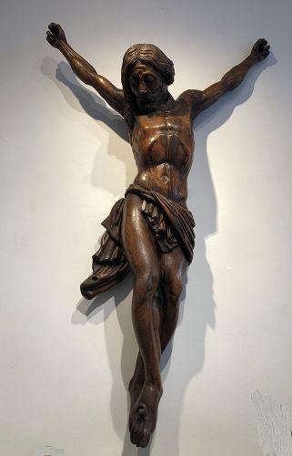 Corpus christi , christ circa 1800 ,Belgium