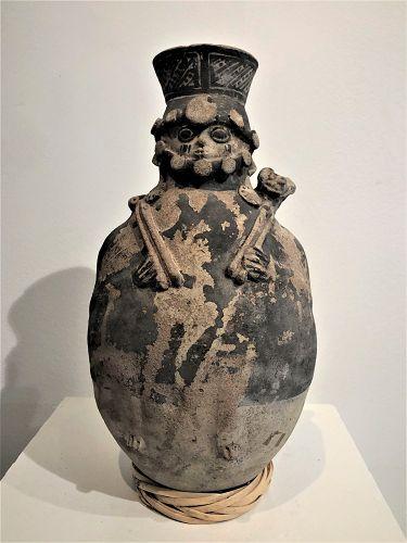 chancay funeral jar Peru