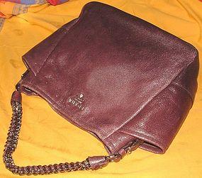 Authentic Prada Cervo Lux Shoulder Hand Tote Bag
