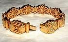 Hammerman Brothers 18K Gold Link Bracelet c1970s