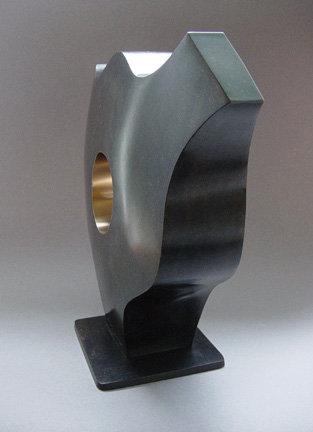 "Gerard Tsutakawa Bronze Sculpture, ""MIMI"""