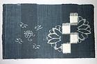 Kasuri Indigo Textile Remnant, Japan, Meiji Era