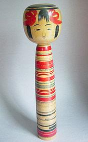 Kokeshi, Tsuchiyuu-kei, by Jinnohara Kazunori