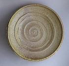 Plate, Ash Glaze, by George Gledhill