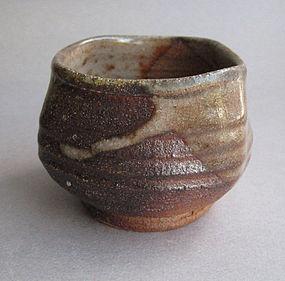 Guinomi, Sake Cup, Ash Glaze. George Gledhill