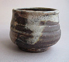 Tea Cup, Chawan, Shino Glaze, by George Gledhill