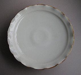 Mukozuke/Dessert Plates, Porcelain. Hanako Nakazato