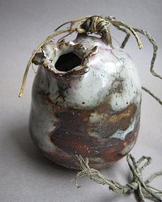 Hanging Vase, Kakehanaire, by Sachiko Furuya