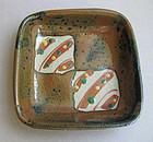 Mashiko-yaki Dish, by Tagami Munetoshi