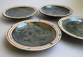 Small Dishes, Mashiko-yaki, by Tagami Munetoshi
