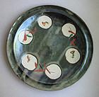 Mashiko-yaki Plates, by Tagami Munetoshi, Hinata Kiln