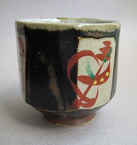 Yunomi, Tea Cups, Mashiko-yaki, by Tagami Isamu