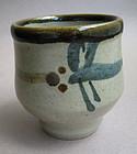 Yunomi, Tea Cup, Mashiko-yaki, by Tagami Munetoshi