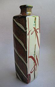 Vase, Hanaire, Mashiko-yaki, by Tagami Munetoshi