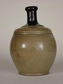 Mashiko ware Tokkuri (Sake Flask)