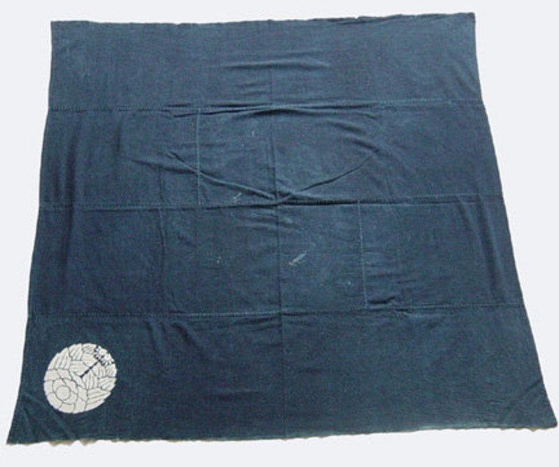 Furoshiki, Wrapping Cloth, Aizome, Meiji Era