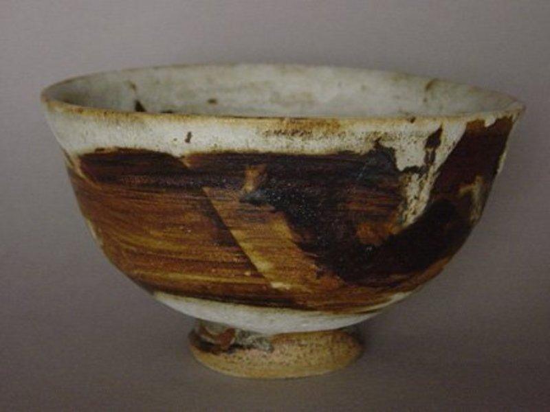 Matcha Tea Bowl (Chawan), Ido Style, Sachiko Furuya