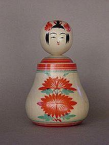 Kokeshi, Japanese Folk Toy, Naruko-kei